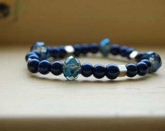"The ""Blue Pearl"" Bracelet"