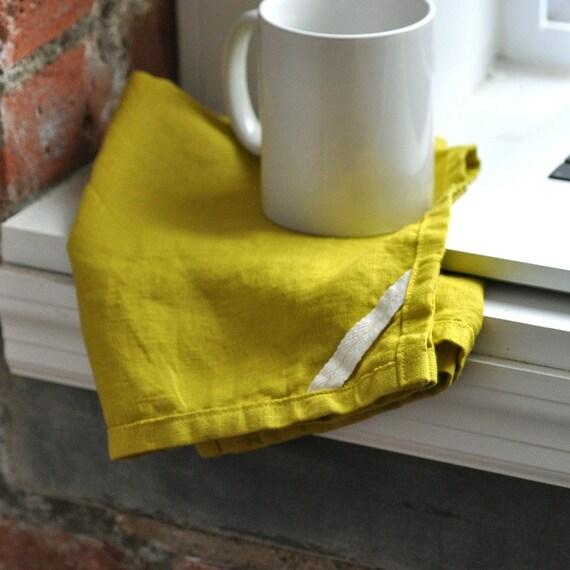 DISH TOWEL - linen citron