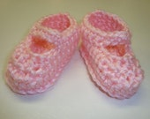 Very EASY And Quick!! Baby Mary Jane Booties PDF Crochet Pattern - ePattern, Tutorial, DIY - Crocheted Infant Shoes - Sizes 0 - 12 Months