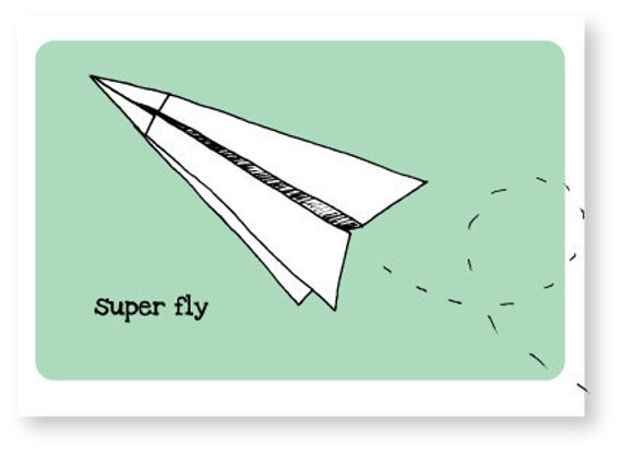 Super Fly - Eco Friendly Greeting Card