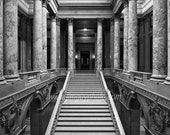 Marble Staircase inside Minnesota State Capital