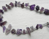 Sea of Amethyst Bracelet