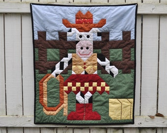 Cowgirl Quilt Pattern in multiple sizes - PDF