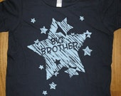 Big Brother Shirt - 6 Colors Available - Kids Big Brother T shirt Sizes 2T, 4T, 6, 8, 10, 12 - Gift Friendly