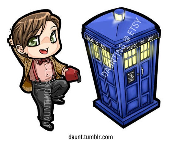 Doctor Who -  11th Doctor & the Tardis Charms