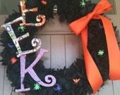 EEK Halloween Wreath