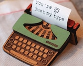 Typewriter Brooch