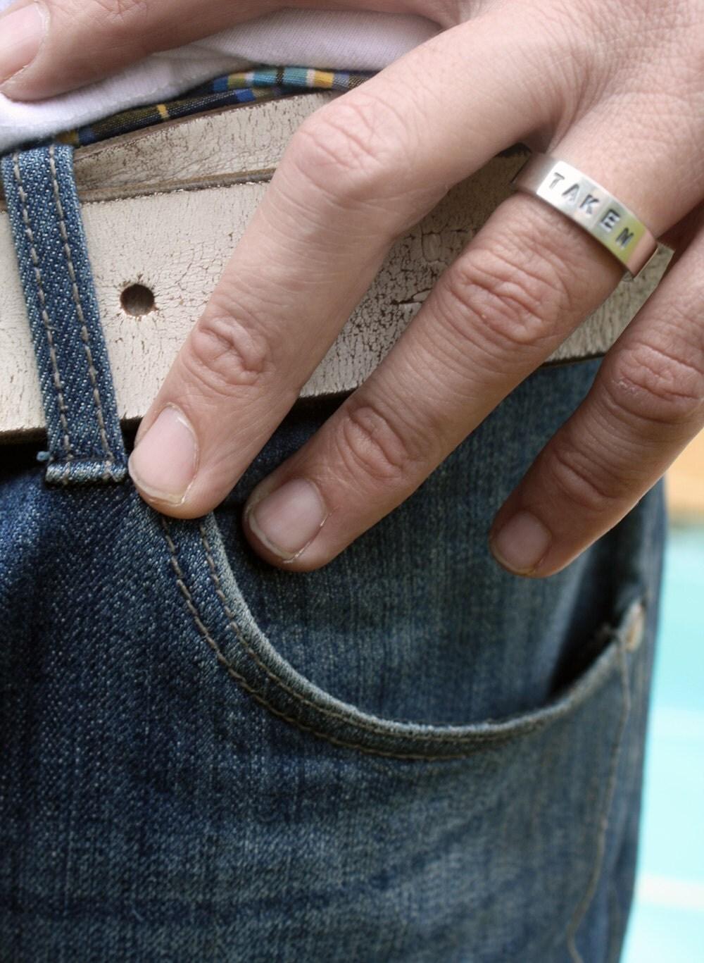 Unique Mens Wedding Ring  Taken Ring  Chunky Sterling. Cobra Snake Rings. Melania Trump's Wedding Rings. Atrocitus Rings. Popular Engagement Engagement Rings. Diamond Chip Engagement Rings. Starburst Engagement Rings. Name Engagement Rings. Cocktail Wedding Rings