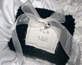 Hand Knit RingBearer Pillow....Pick COLOURS to match your wedding....