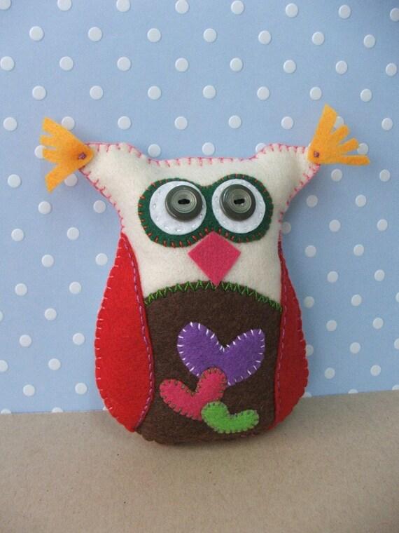 Felt owl -  Sweet owl Kimmi
