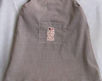 Owl Pocket Dress in Size 2T