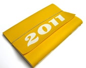 Last One in this color - 2011 Planner - YELLOW and White