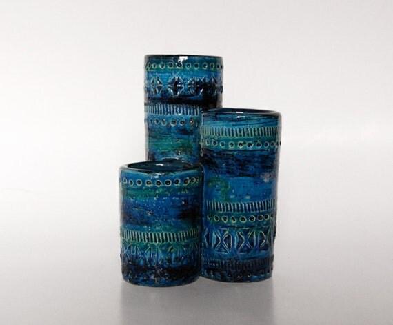 Mid-Century Modernist Cluster Vase - Bitossi