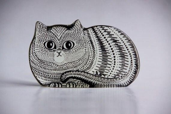 Abraham Palatnik Lucite Cat Figurine - Rare