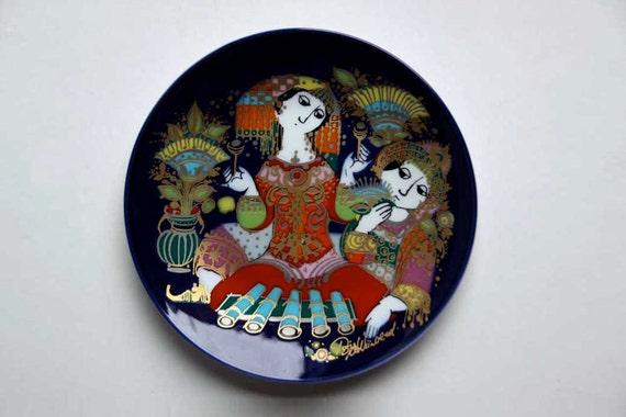 Vintage Wall Plate (2) - Bjørn Wiinblad for Rosenthal