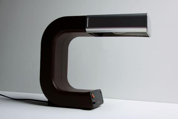 Vintage Original  Brown  German Table Lamp -  Pfäffle 1970s