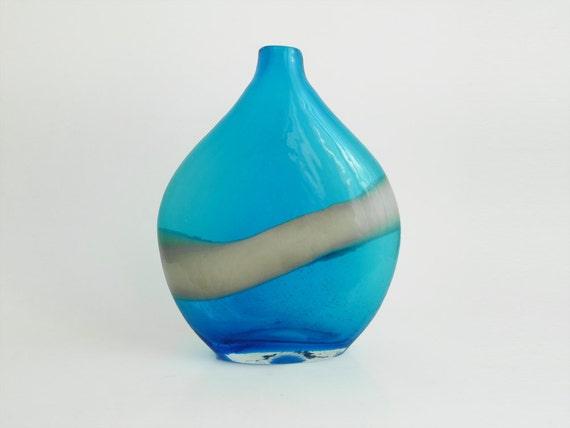 Vintage Blue White Vase