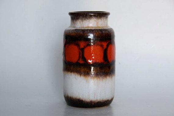 West German Lava Vase - Scheurich 1970s