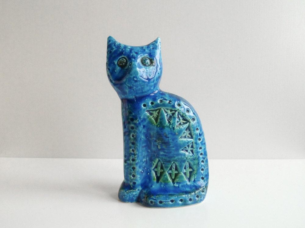 Vintage Cat Figurine Flavia Bitossi