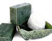LAST BAR - Winter Wonderland Soap - Handmade Hot Process Vegan Bar - Delicate by Nature