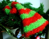 Crochet Baby Christmas Elf Hat