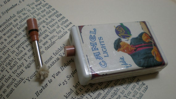 Joe Camel Unusual Matchstick Lighter- Eddie The Drummer
