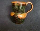 Mug Gloss Black/Brown