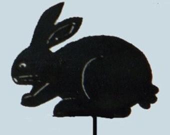 Down Bunny Yard Art by Rustiques Garden Art