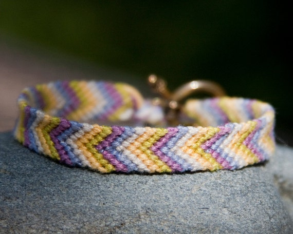 """RESERVED FOR TINA - 1/4"""" friendship bracelet - custom order"""