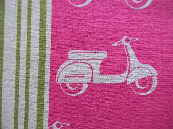 RESERVED listing for Anishah  Echino, Scooter in Rose/Pink discontinued, OneYard Shipping not included