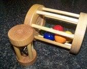 Ball & Bell Cylinder - Montessori Toys