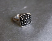 Silver Stud Ring