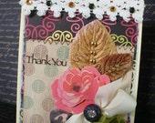SALE SALE SALE Thank You Handmade Card