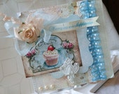Shabby Chic Wishing You Every Happiness Handmade Card for All Occassion