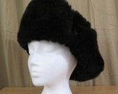 Vintage Awesome Faux Fur Russian Style Hat