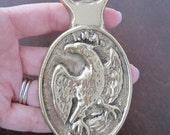 Vintage 70s Eagle Metal Bottle Opener