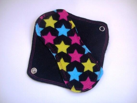 Mama Cloth Panty Liner -- Seeing Stars MiniPad