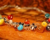 Necklace--Weaving Rainbow