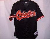 Vintage 1992 BALTIMORE ORIOLES sewn baseball Jersey Large