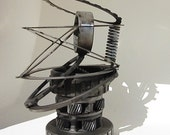 Abstract Metal Sculpture Re Purposed Automotive Parts