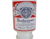Vintage Budweiser Pedestal Beer Glass / Vase