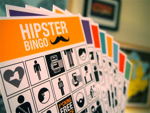 Classic Hipster Bingo COMBO PACK