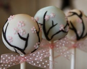Mom's Killer Cakes & Cookies Spring Cherry Blossom Cake Pops