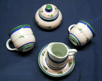 Time for A Tea Party-Cute and Pink with Blue and Green Design Set