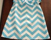 Chevron Stripe Infant Dress Size-Many Sizes