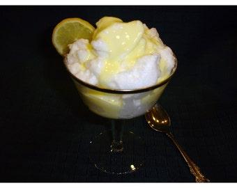Snow Pudding with Custard Sauce Dessert PDF Recipe