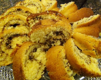 German Coffee Cake--Easy and Quick PDF Recipe