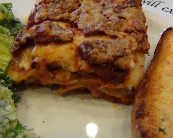 Mama Mia Lasagne PDF Recipe-A Family Favorite