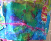 South Seas Clutch Purse Weddings -MAde to Order Original BATIK Silk, to Match Evening wear & Cruise/City Lives