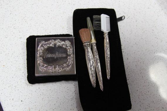 Sterling Vanity Brush Set